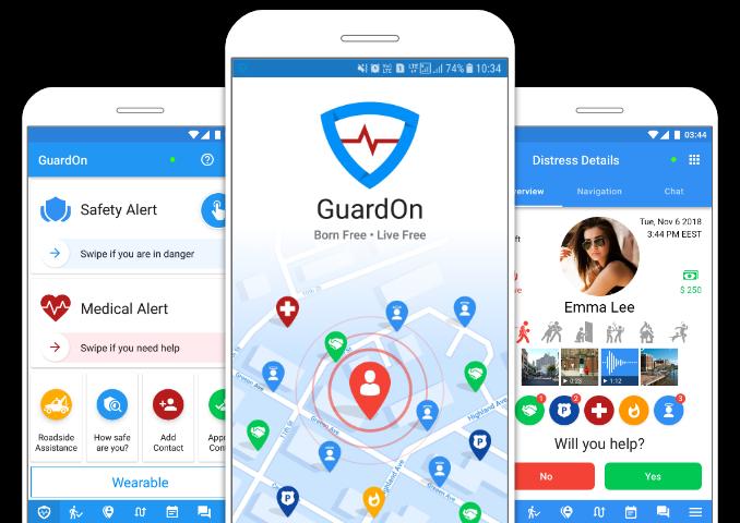 GuardOn app